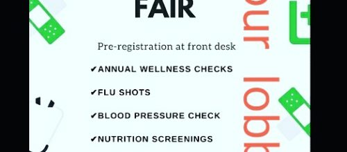 Fitness Works Health Fair is TODAY!